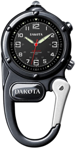 Dakota Watch Company Mini Clip Microlight Watch