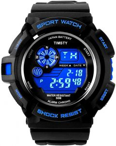 Timsty Electronic Sports Waterproof Watch