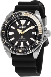 Seiko SRPB55 Men's -- Black Ion